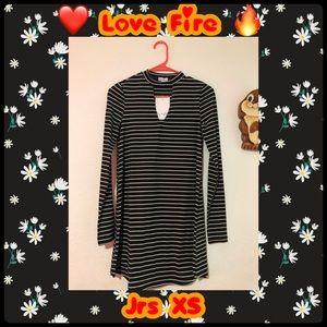 Jrs XS ❤️ Love Fire 🔥 Dress